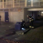 Containerbrand Amsterdam-Noord