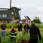 GB 20140529 002 Paard te water Lagedijk Spaarndam